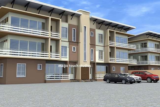 Architectural Designs 3 Bedroom Apartment