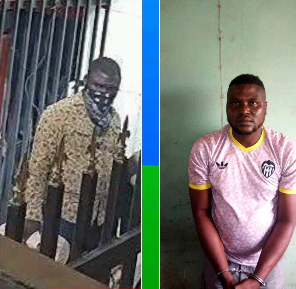 At Last, Police Arrests Offa Bank Robbers! (See Photos)