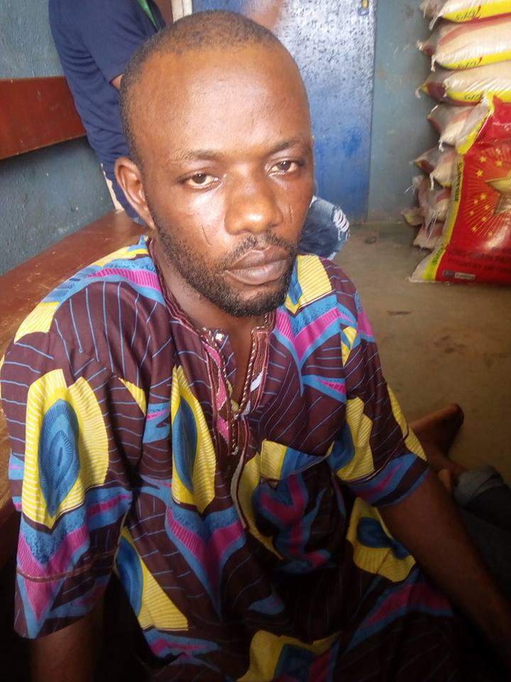 Spray Painter Tracked Down In Osun State After Fleeing With Customer's Car