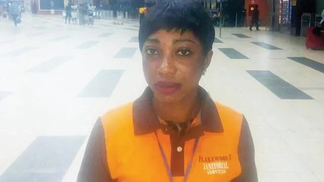 Female Airport Cleaner Praised After Returning N2M She Found In The Toilet (Photo)