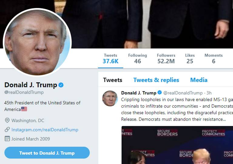 Donald Trump can no longer block Twitter users because of their Political views