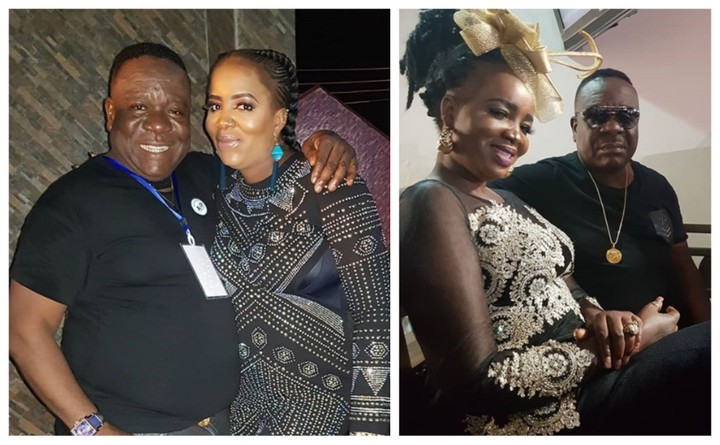 Wife of Nollywood Actor Mr Ibu his wife Stella Maris celebrate's 3years old wedding anniversary