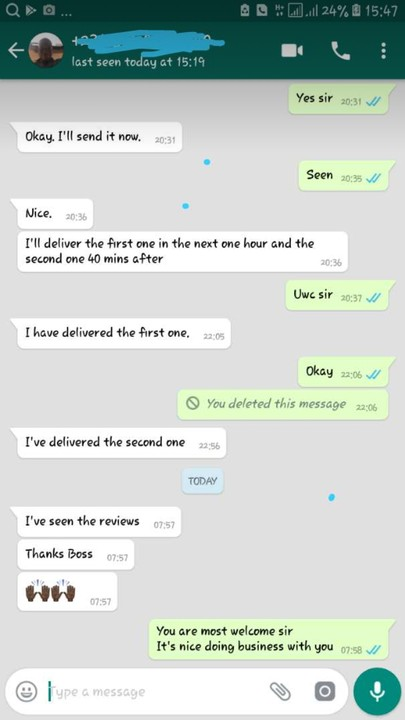 Buy Fiverr Reviews - Business To Business - Nigeria