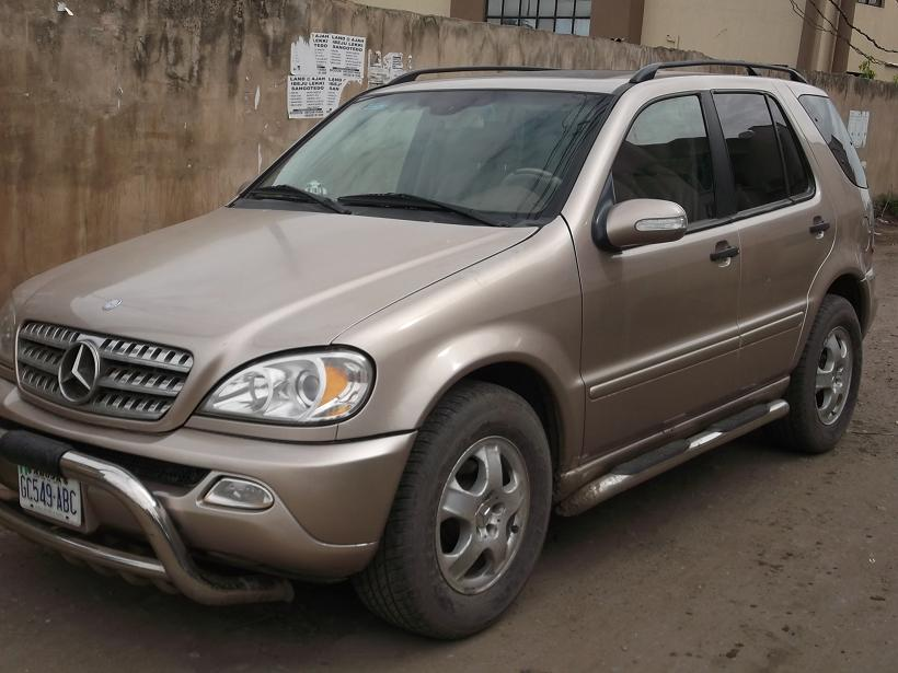 Registered mercedes benz ml320 2003 8 months n1 for 2003 mercedes benz ml320