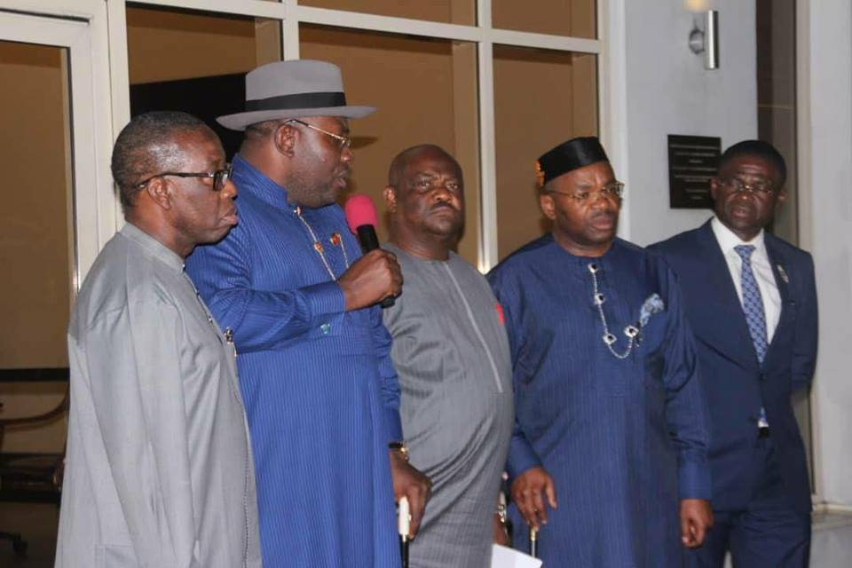 Why South-South Governors Met In Port Harcourt