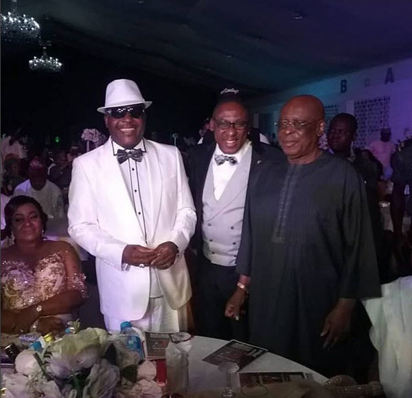 Image result for Sir Shina Peters makes grand entry at his 60th birthday party