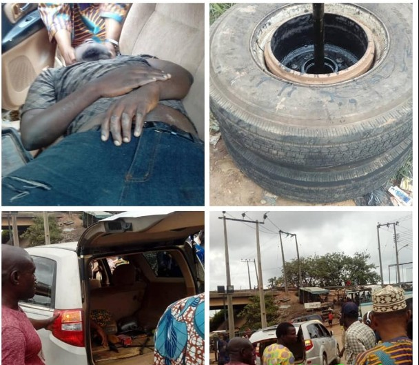 Tragedy As Alfa Slumps And Dies In Oyo State (Photos)