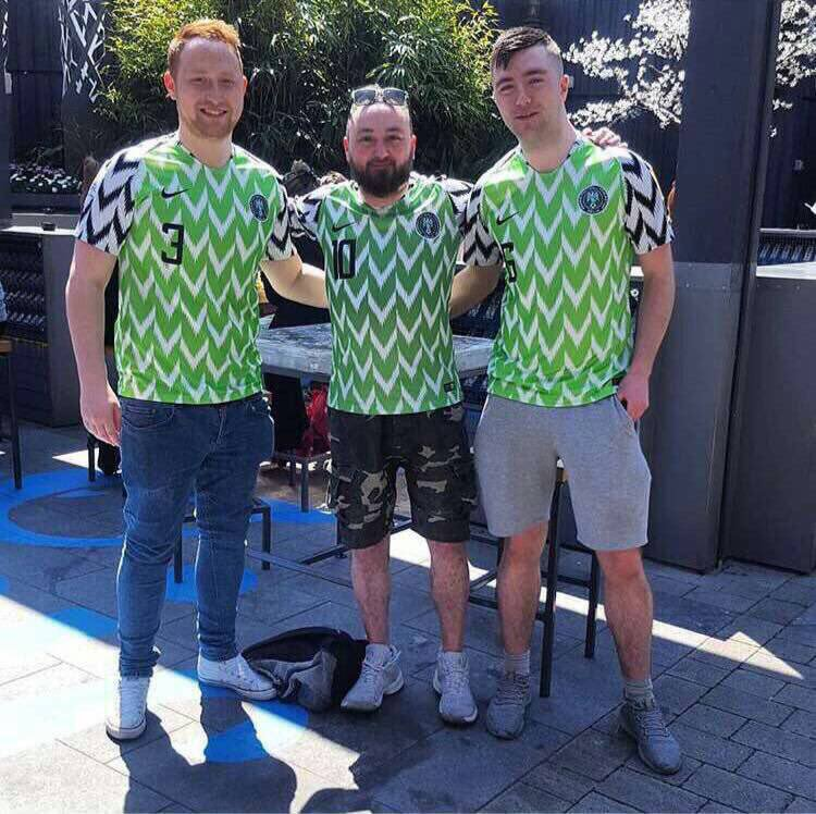 brand new 271b1 8fe9c The World Is Going Crazy Over The Nike Nigerian Super Eagles ...