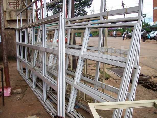 Aluminium Profile Glass And Accessories For Doors And