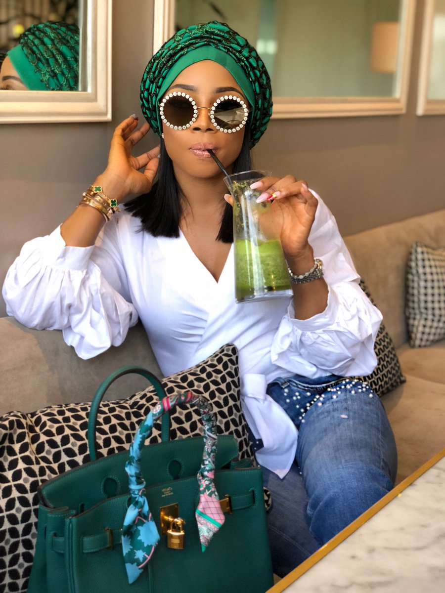 "Toke Makinwa Exposes Her Colleague: ""I Have Fed Mouths That Have Cursed Me"""