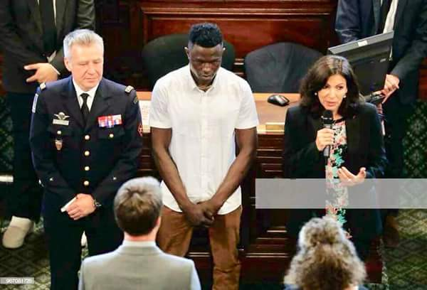 See Award Given To Malian Who Saved Child At Storey Building By Paris Mayor