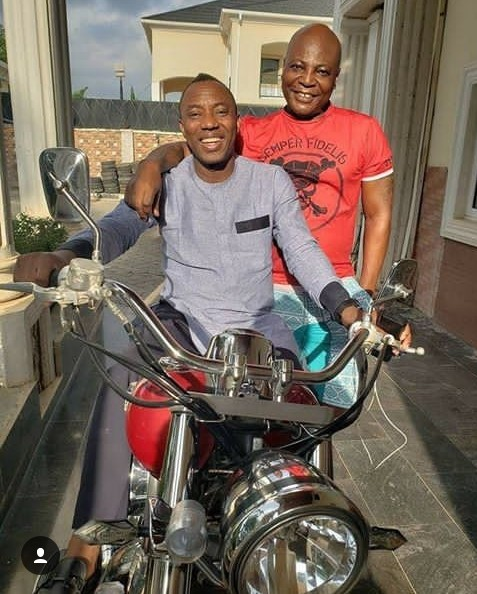 Omoyele Sowore And Charly Boy Pictured Together