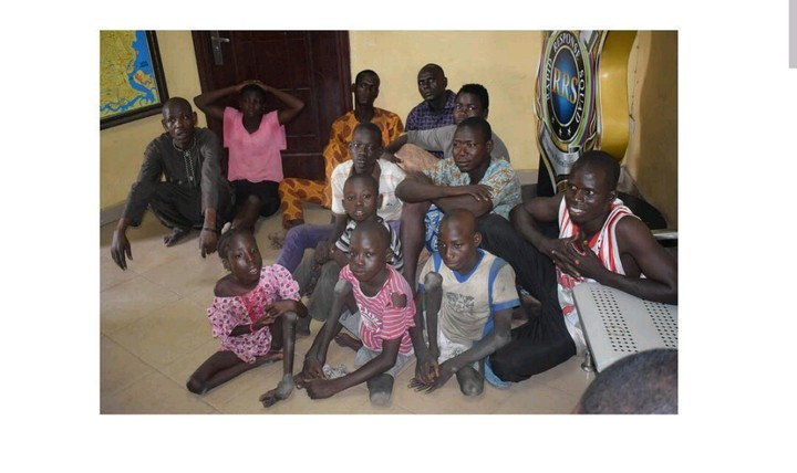 7 People Arrested For Importing Physically Challenged Kids To Beg In Lagos