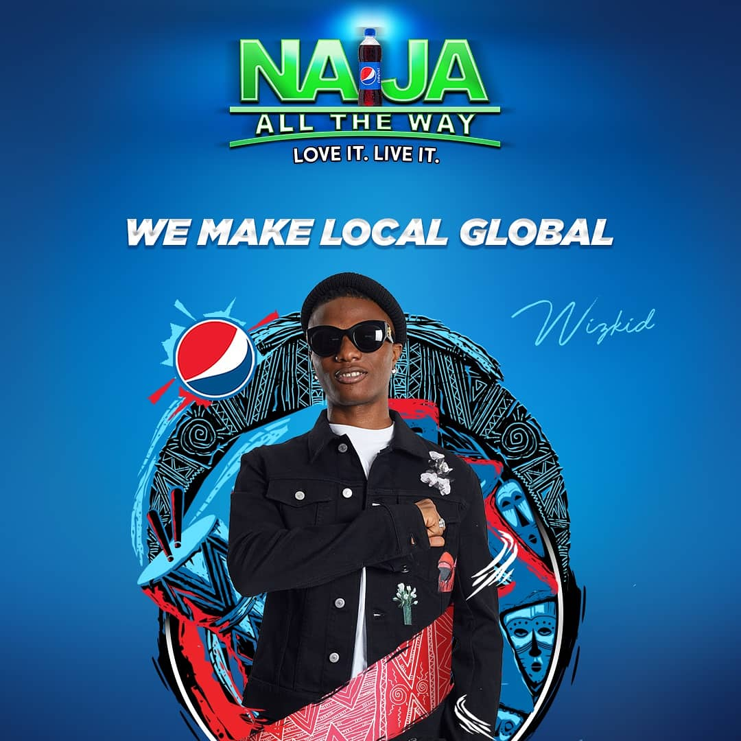 "Celebrities Featured In ""Naija On The Way "" Campaign By Pepsi Nigeria  -photos - Celebrities - Nigeria"
