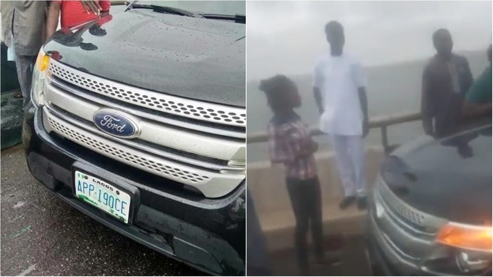 Conflicting Reports On Woman That Jumped Into Lagos Lagoon On 3rd Mainland Bridge