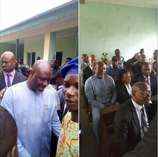 Photos Of Dino Melaye In Court As Accused Persons Deny Allegations Against Him