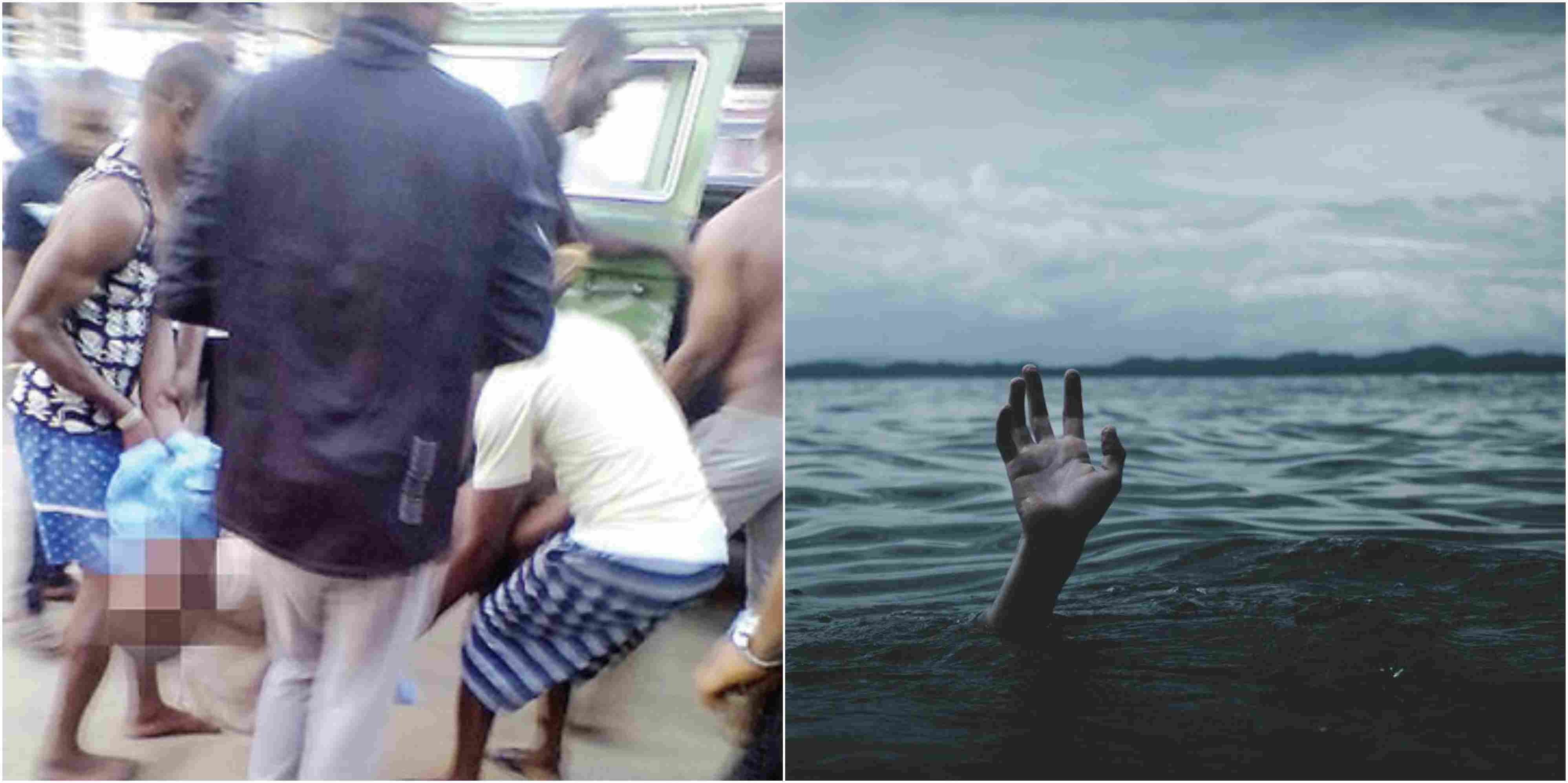 Man Drowns While Evading Police Arrest In Rivers State (Photos)