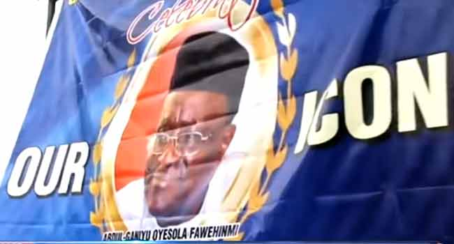 President Buhari Formally Confers GCON Title On Gani Fawehinmi