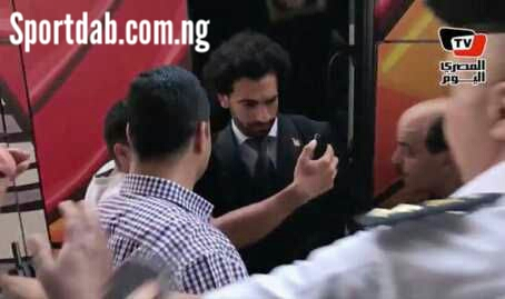 Fan Grabs Mohamed Salah's Injured Shoulder In Russia (Photos)