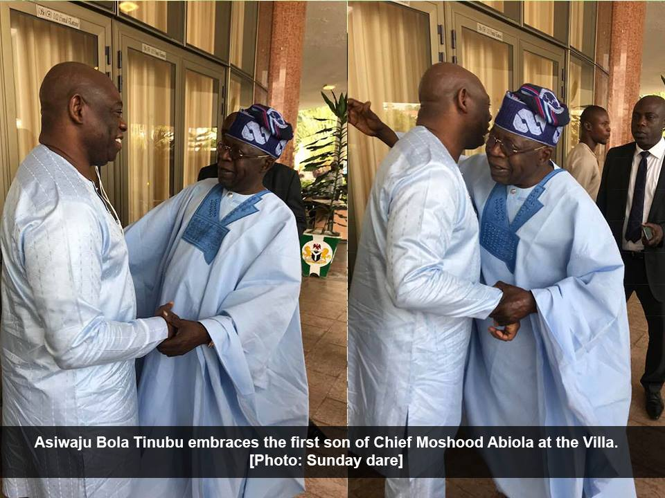 Image result for Kola Abiola and tinubu