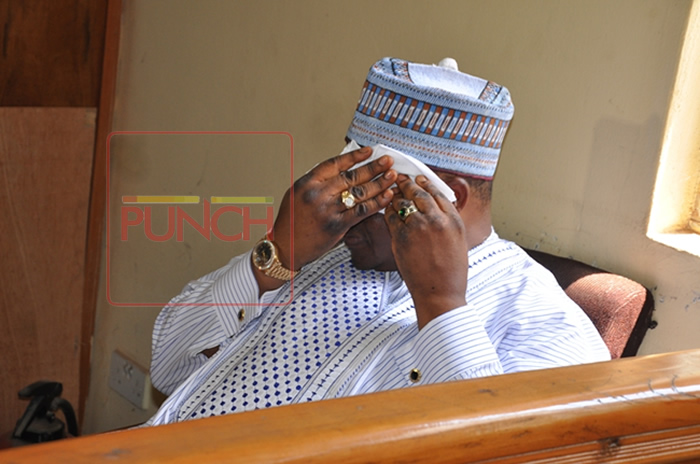 Ex Governor Dariye Sentenced To 14 Years Imprisonment, As He Cries In Court! (Photos)