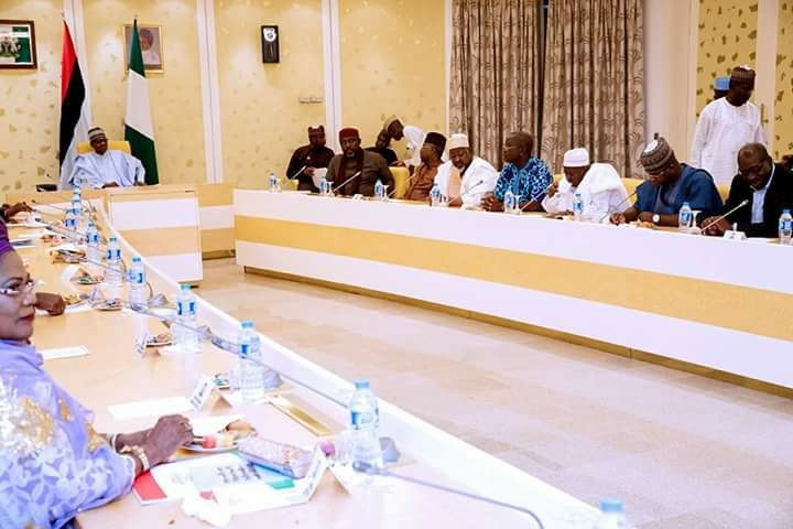 President Buhari Receives APC Governors (Photos)