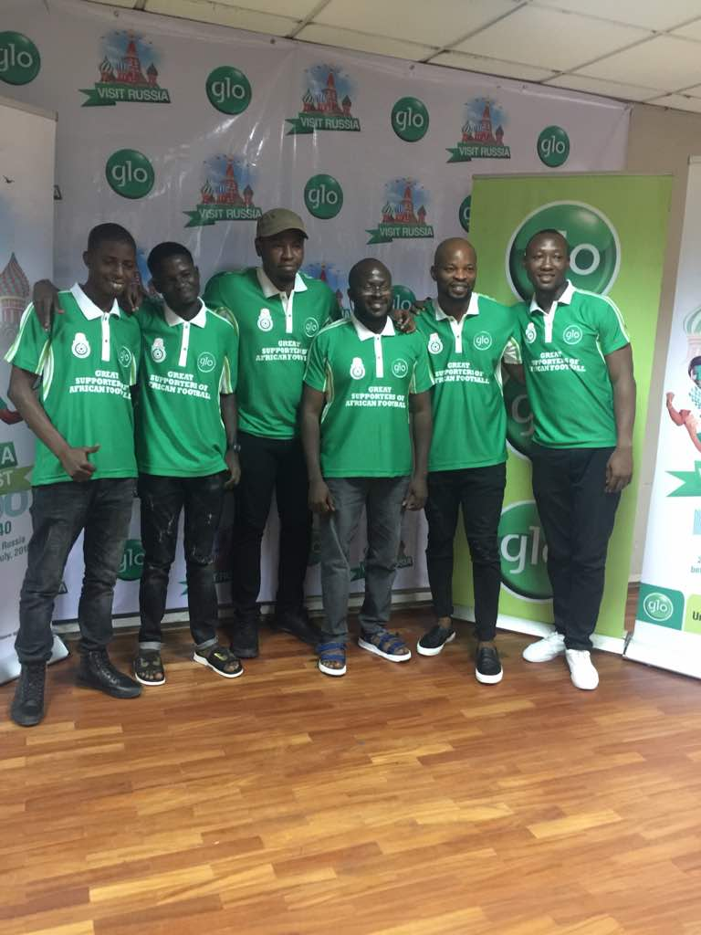 Glo Sponsors 7 Lucky Nigerians To Russia