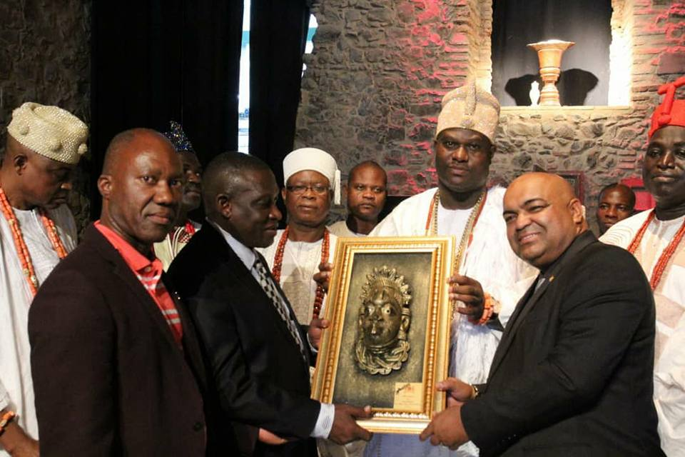 Ooni Of Ife Visits Oldest African Temple In Brazil Which Used To Be A Church [Photos]