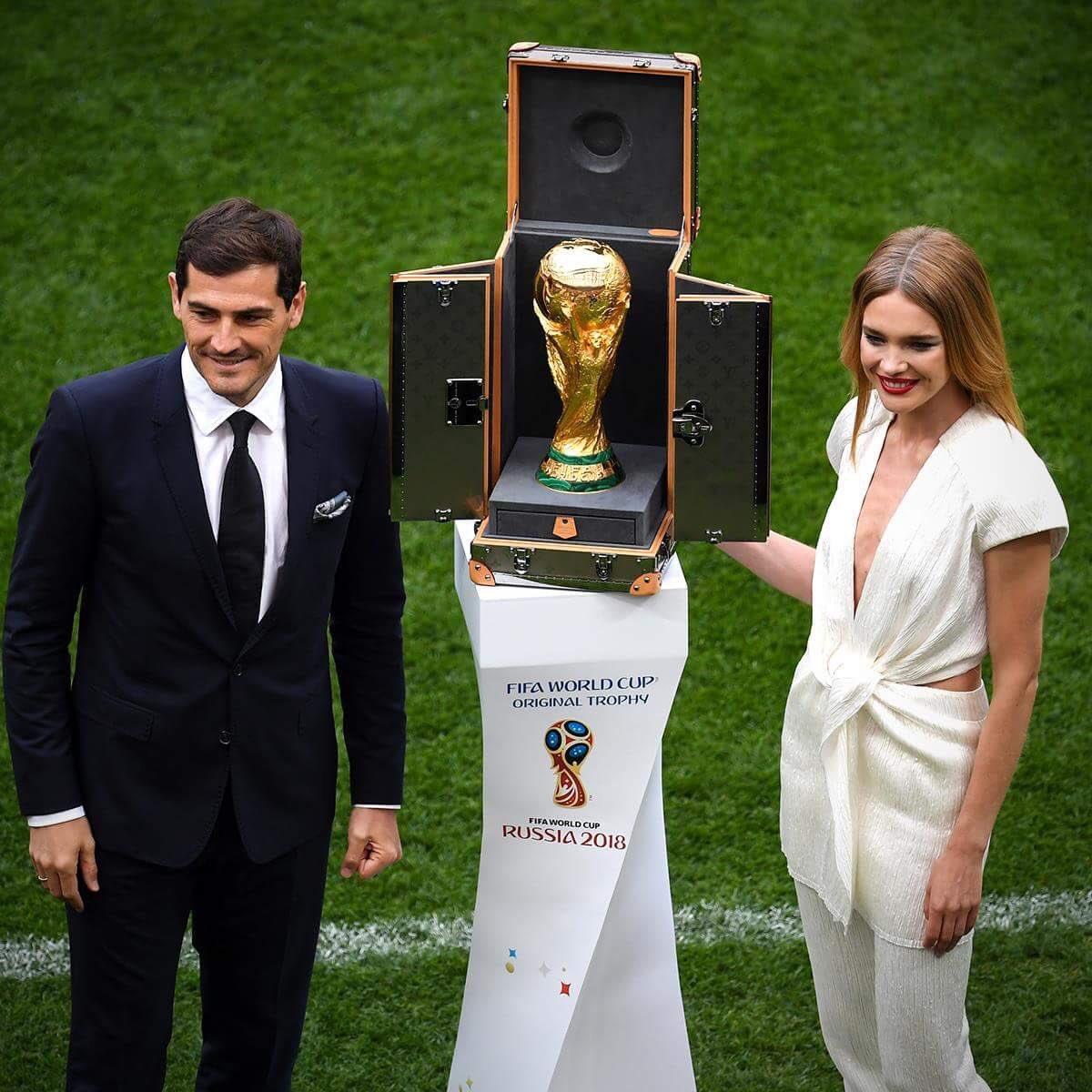 World Cup 2018 Trophy Unveiled [Photos]