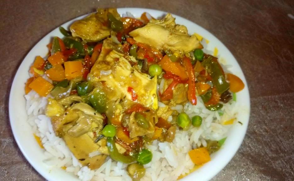 How To Cook Tasty Chicken Curry Sauce For White Rice (Pics ...