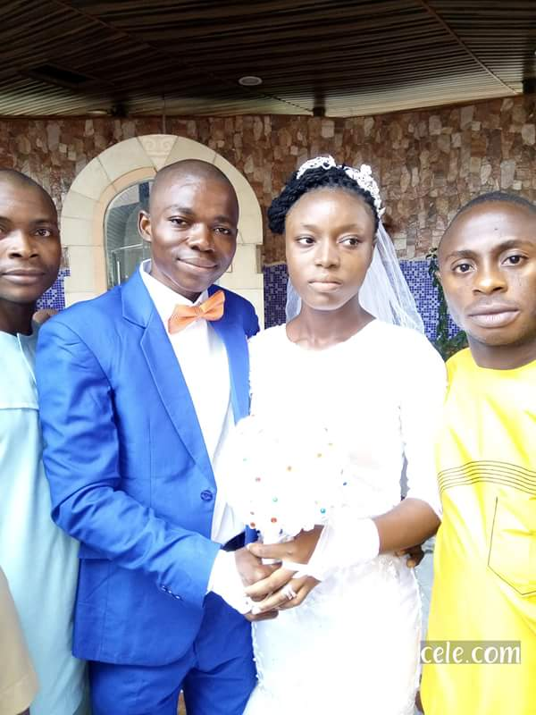 Meet The Nigerian Lady Who Weds Without Wearing Makeup (Photos)