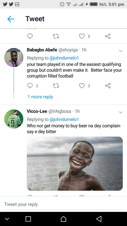John Dumelo Shades Super Eagles After Match With Croatia