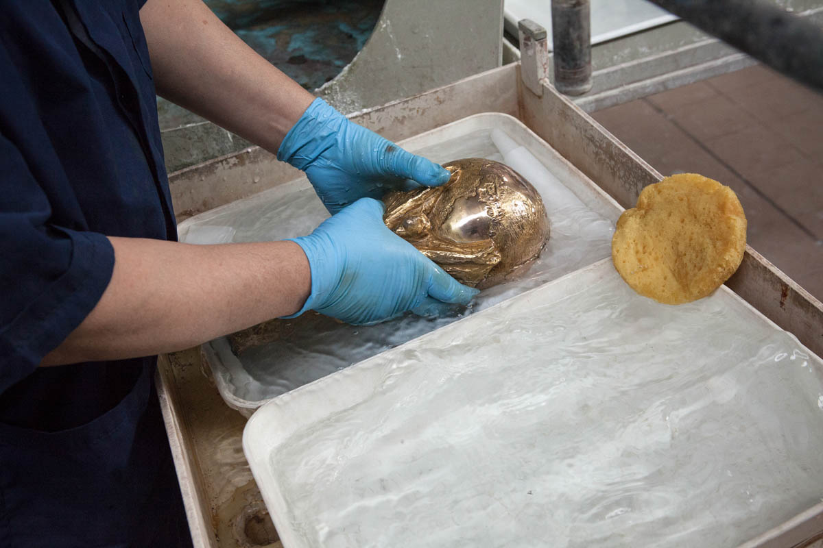 "See Where And How FIFA World Cup Trophy Is Made"" [Photos]"