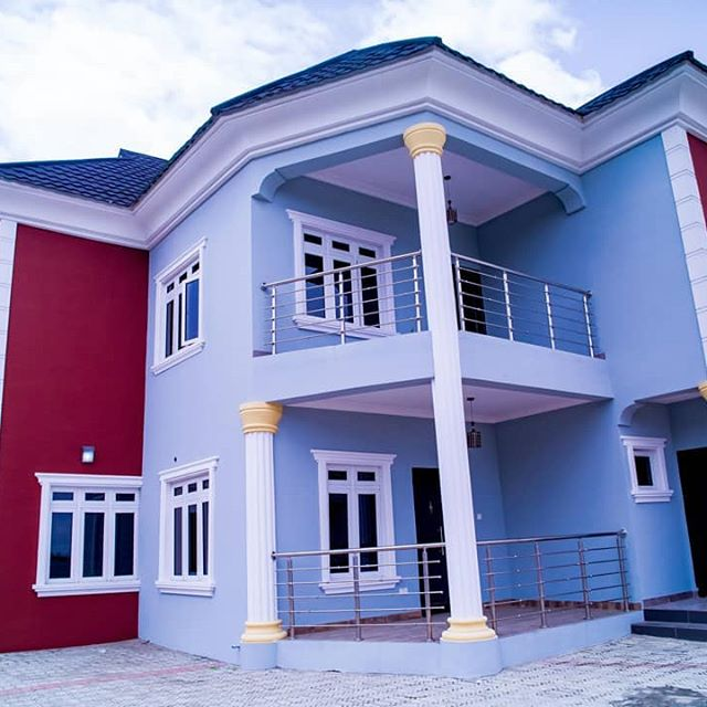 Photos: Mercy Aigbe Buys A New House In Lagos