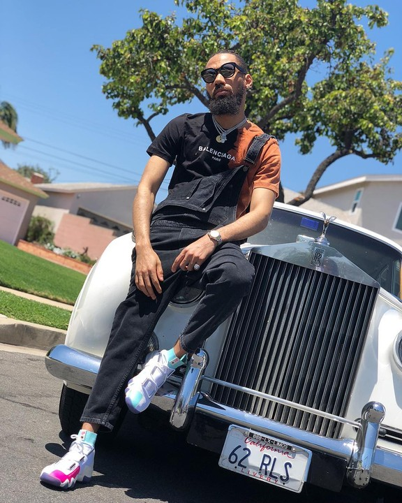PHOTOS!!!:  Phyno Flaunts His White Roll Royce As He Shares New Dope Photos
