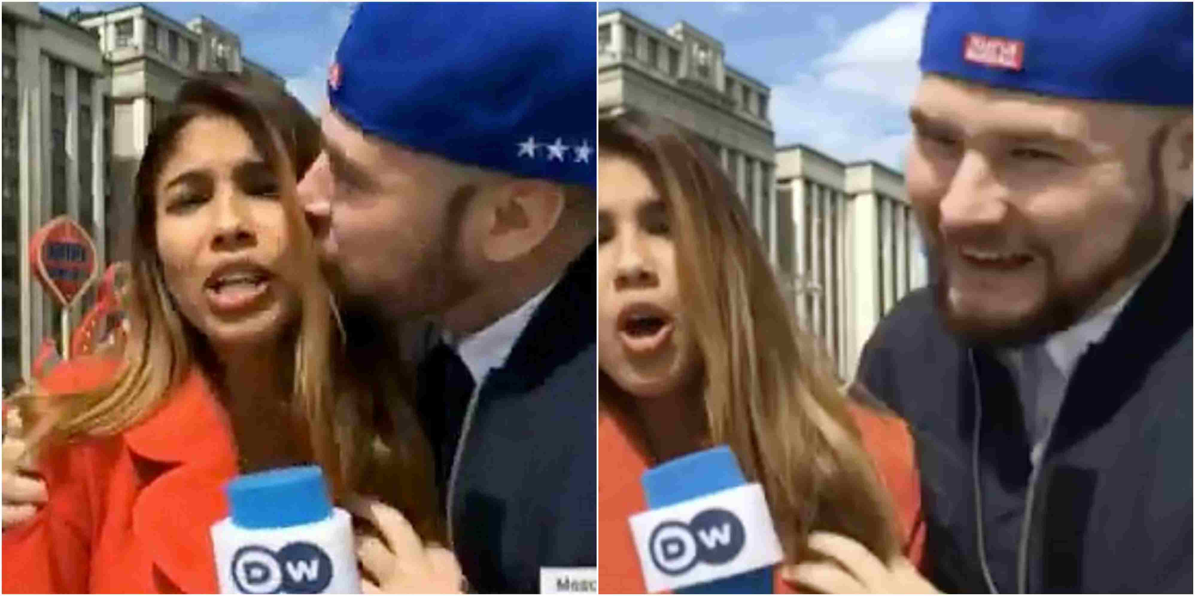 World Cup Reporter Sexually Assaulted On Live TV In Russia