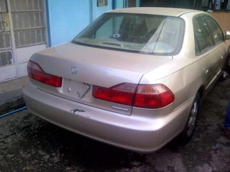 2001 Honda Accord Special Edition Lagos Cleared N1