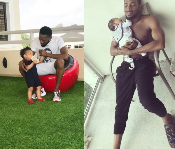 Sad! D'banj One Year Old Son Is Dead! Daniel D'Third Drowns In Swimming Pool
