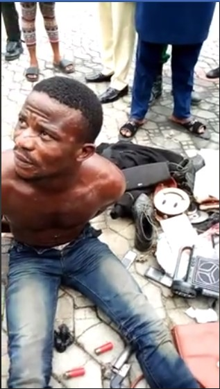 Notorious robbery suspect arrested by SARS in Imo Hotel
