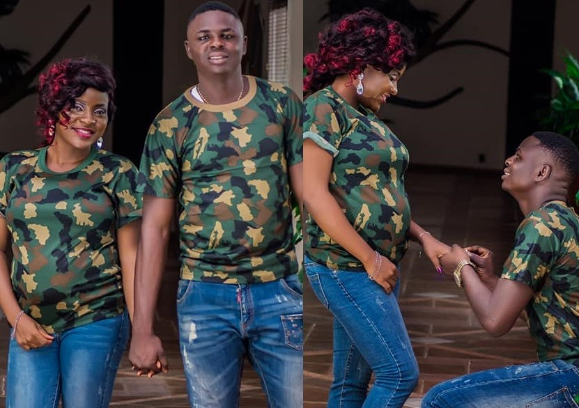 Stunning Pre-wedding Photos Of A Nigerian Soldier And His Bride (Photos