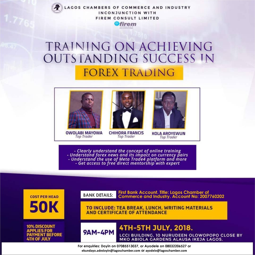 Training On Achieving Outstanding Success In Forex Trading -