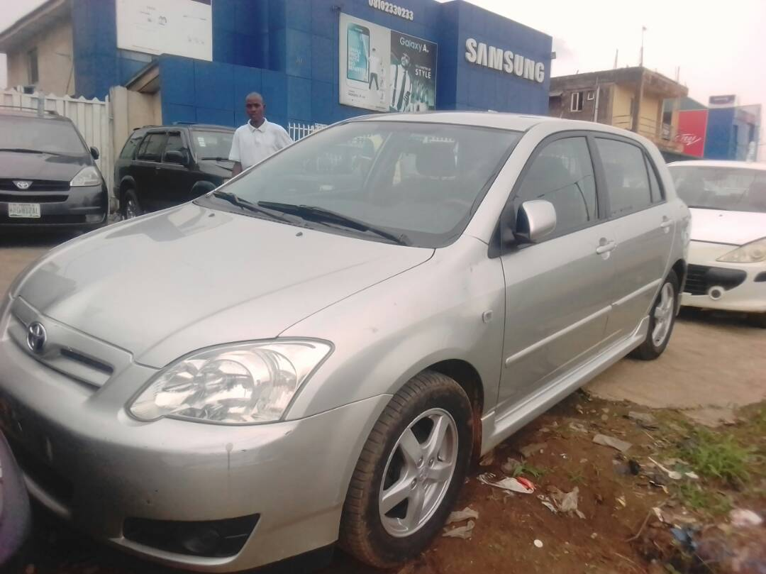Super Clean Tokunbo Toyota Corolla Hatch Back 06 Call 08023416552