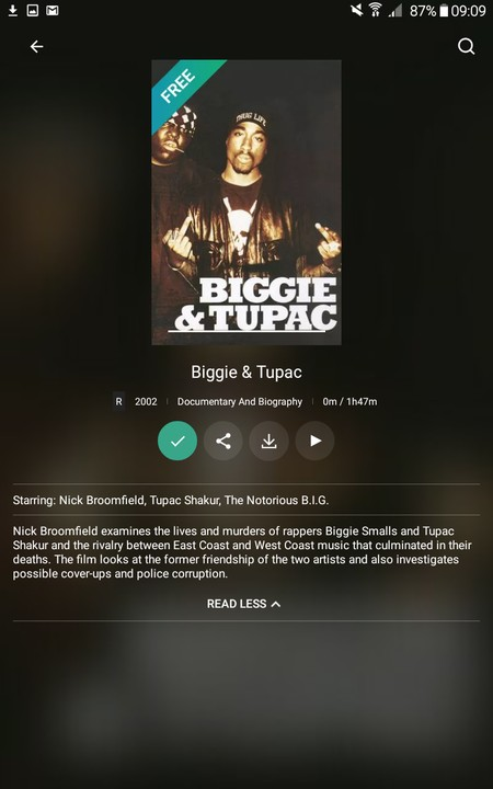 Biggie & Tupac Movie (watch And Download) - TV/Movies - Nigeria