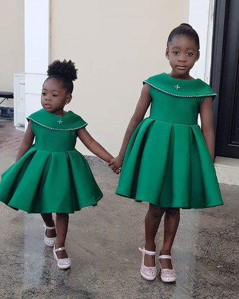 Purity And Angel Okojie: Mercy Johnson's Daughters Wow In