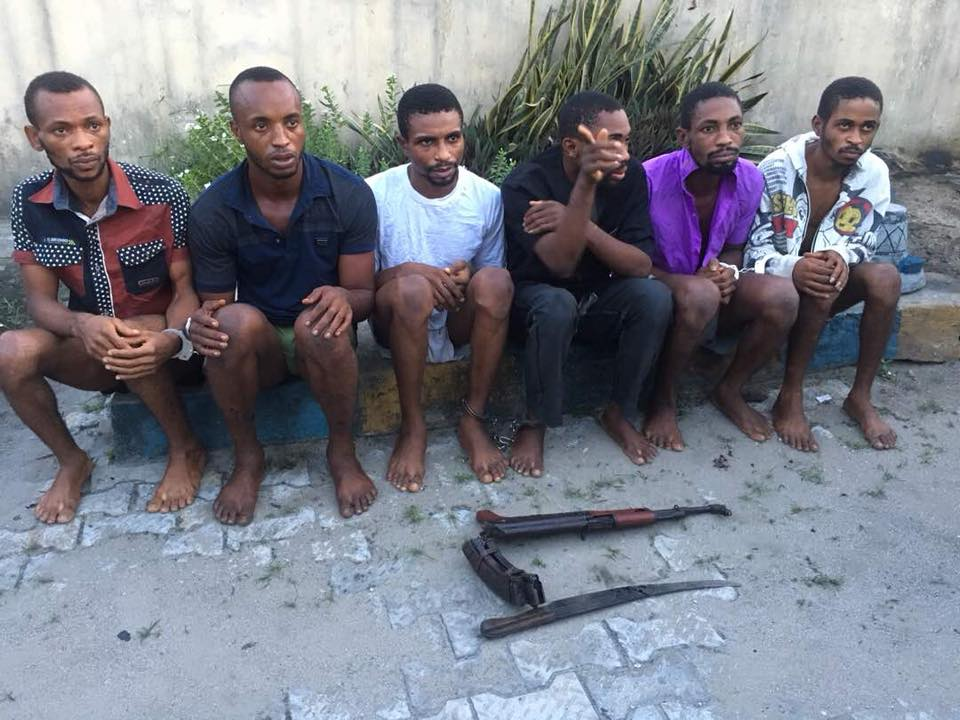 See The Moment Kidnappers And Killers Of NNPC Staff Were Caught (Photos)