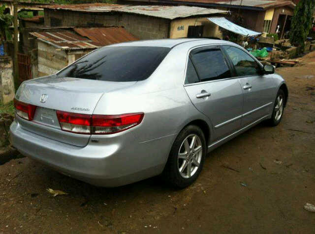 Amazing V6 Full Option. Auto Gear. Etc 08097930879. BB:22C0742D. Re: Super Clean  Tokunbo V6 2003 Honda Accord ...