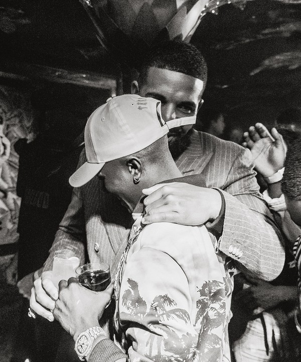 PHOTOS!!!: Wizkid Finally Meets Drake At Scorpion Listening Party