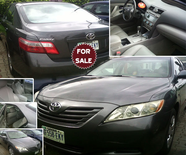 toyota camry 2008 naija used super clean 2 2m autos. Black Bedroom Furniture Sets. Home Design Ideas