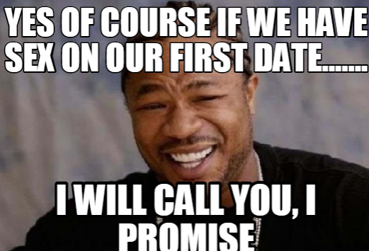 Call after first date