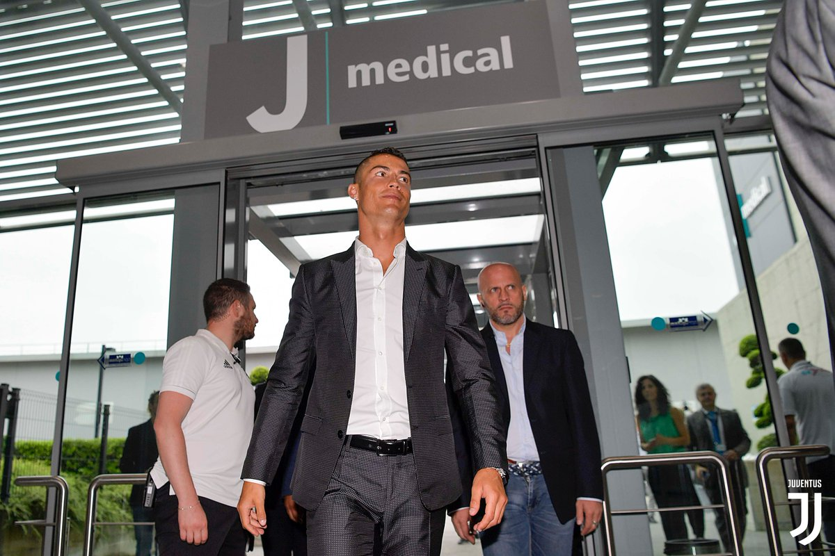 promo code 21749 392cb Once his medical is over, the Portuguese superstar will be officially  unveiled as the Old Ladys latest recruit at 1730 BST before meeting his  new ...